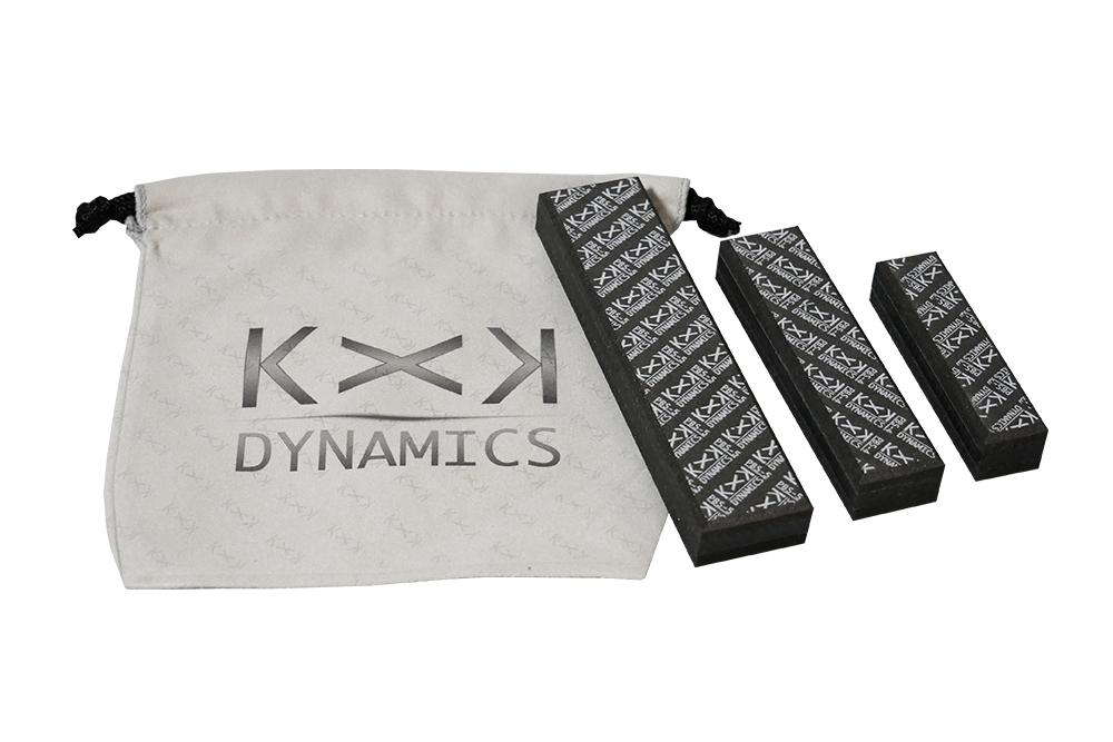 KxK Dynamics Accessory [PALM BLOX Soft] Sanding Blocks (3-Piece Set)