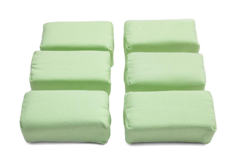[Appli-Coat] Microfiber Ceramic Coating Applicator Pad (3 in. x 1.5 in. x 1.5 in.) 6 pack