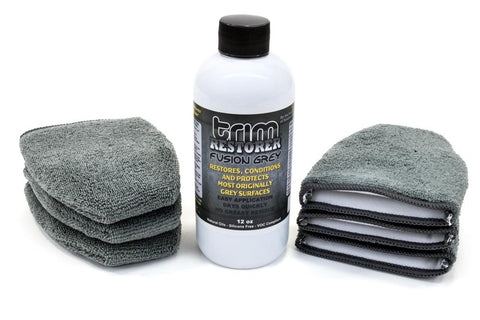 [Solution Finish] Fusion Gray Trim Restorer 12 oz.