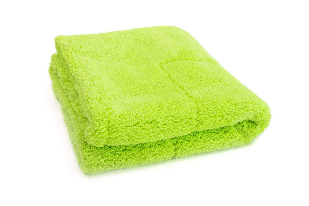 Autofiber Towel [Motherfluffer] Plush Rinseless Wash and Drying Towel (16 in. x 16 in., 1100 gsm) 2 pack