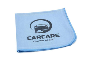 Autofiber Custom Custom Print CUSTOM [Smooth Glass] Printed Logo Towel - 10 pack