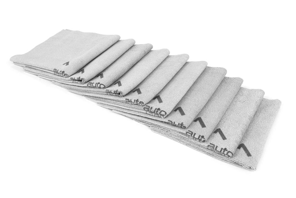 [Quadrant Wipe] Microfiber Coating Application Towel (16 in. x 16 in.) - 10 pack