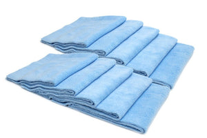 Autofiber Towel Blue [Mr. Everything] Premium Paintwork Towel (16 in. x 16 in., 390 gsm) 10 pack