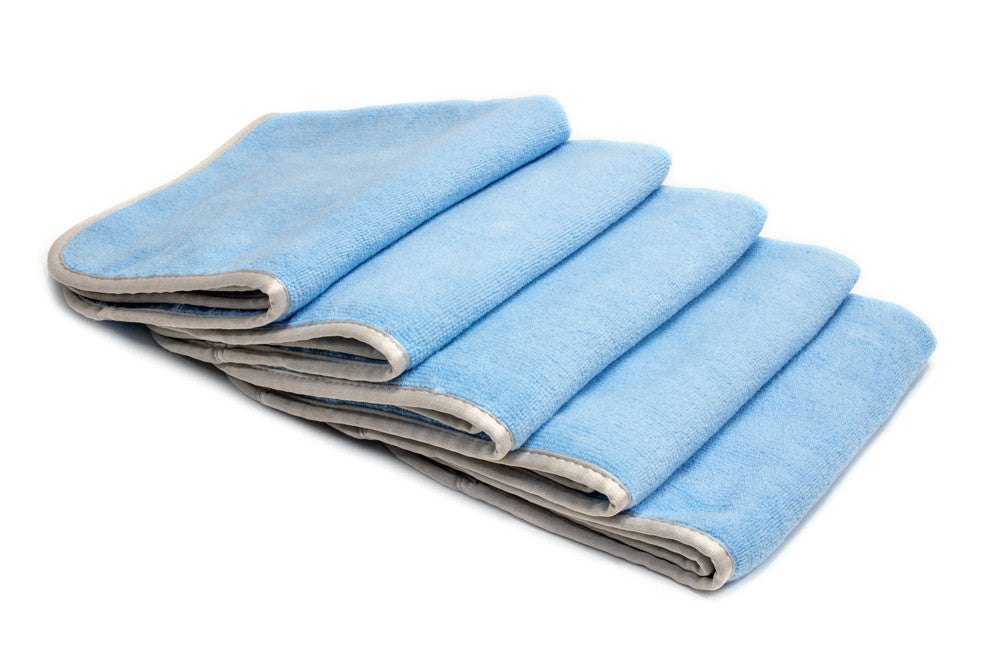 [Mr. Everything] Microfiber Utility Towel with MicroEdge (16 in. x 16 in., 350 gsm) 5 pack