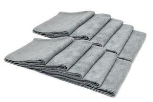 Autofiber Towel Gray [Mr. Everything] Premium Paintwork Towel (16 in. x 16 in., 390 gsm) 10 pack