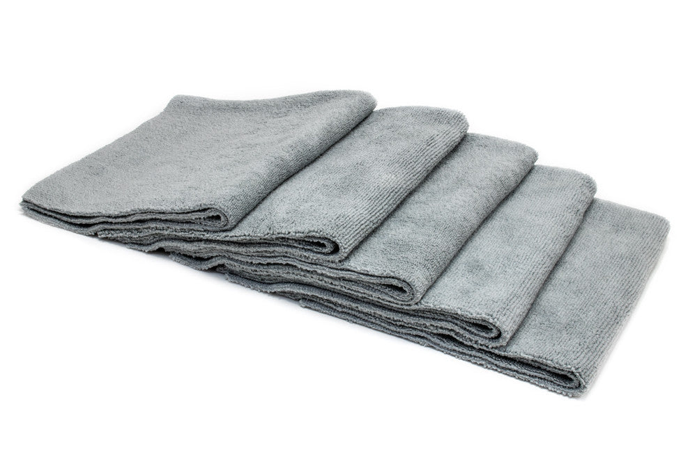 [Mr. Everything] Edgeless Microfiber Utility Towel (16 in. x 16 in., 350 gsm) 5 pack