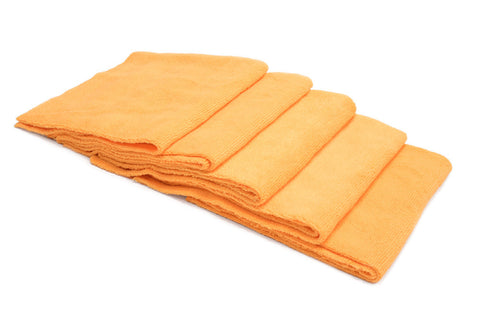 [Block Sponge Skinny] Thin Microfiber Applicator Pad (5 in. x 3.5 in. x 0.75 in.) 4 Pack