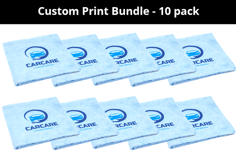 CUSTOM [Elite] Printed Logo Towel - 10 pack
