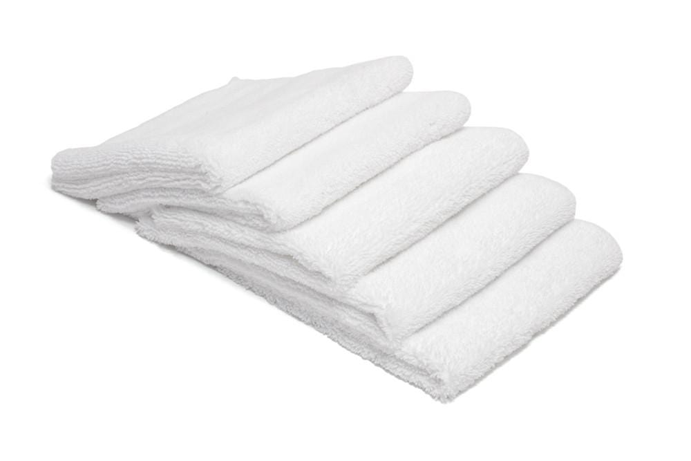 Autofiber Towel White [Elite] Edgeless Microfiber Detailing Towels (16 in. x 16 in. 360 gsm) 5 pack