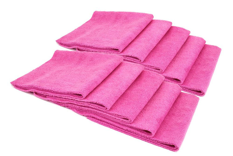 Autofiber Towel Pink [Mr. Everything] Premium Paintwork Towel (16 in. x 16 in., 390 gsm) 10 pack