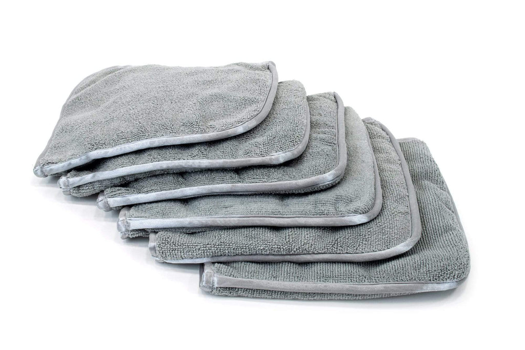 Autofiber Towel [Interior Flip] Microfiber Dash, Plastic, Leather and Upholstery Towel (8 in. x 8 in) 6 pack