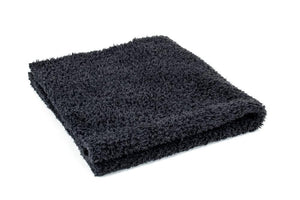 Autofiber Towel Black [Korean Plush 350] Microfiber Detailing Towel (16 in. x 16 in., 350 gsm) 10 pack BULK BUNDLE