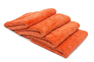 Autofiber Towel Orange [Korean Plush 470] Edgeless Detailing Towels (16 in. x 16 in. 470 gsm) 4 pack