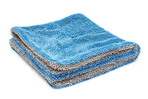 Autofiber Towel Dreadnought Jr. - Microfiber Double Twist Pile Detailing Towel (16 in. x 16 in., 1100gsm) - 2 pack