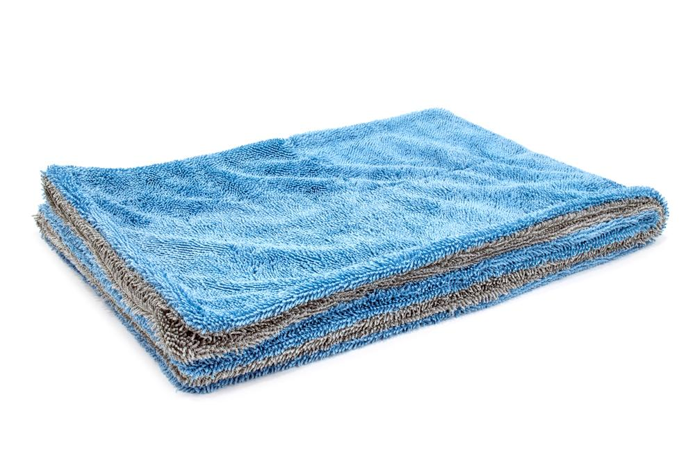 Autofiber Towel Blue/Gray Dreadnought - Microfiber Car Drying Towel (20 in. x 30 in., 1100gsm) - 1 pack