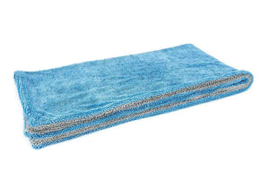 Autofiber Towel Blue/Gray Dreadnought XL - Microfiber Car Drying Towel (20 in. x 40 in., 1100gsm) - 1 pack