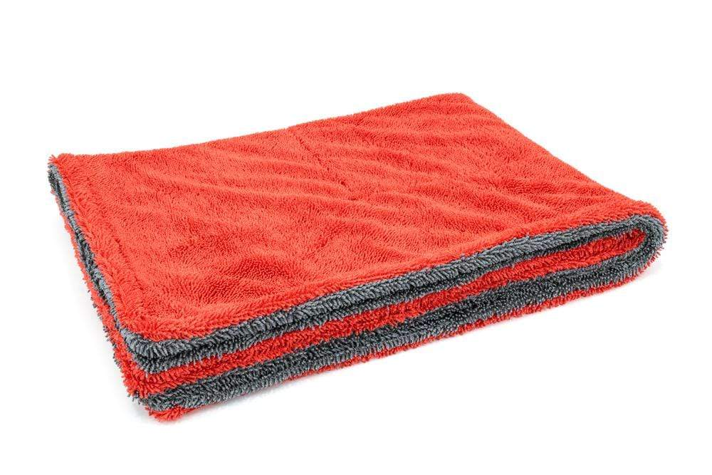Autofiber Towel Red/Gray Dreadnought - Microfiber Car Drying Towel (20 in. x 30 in., 1100gsm) - 1 pack