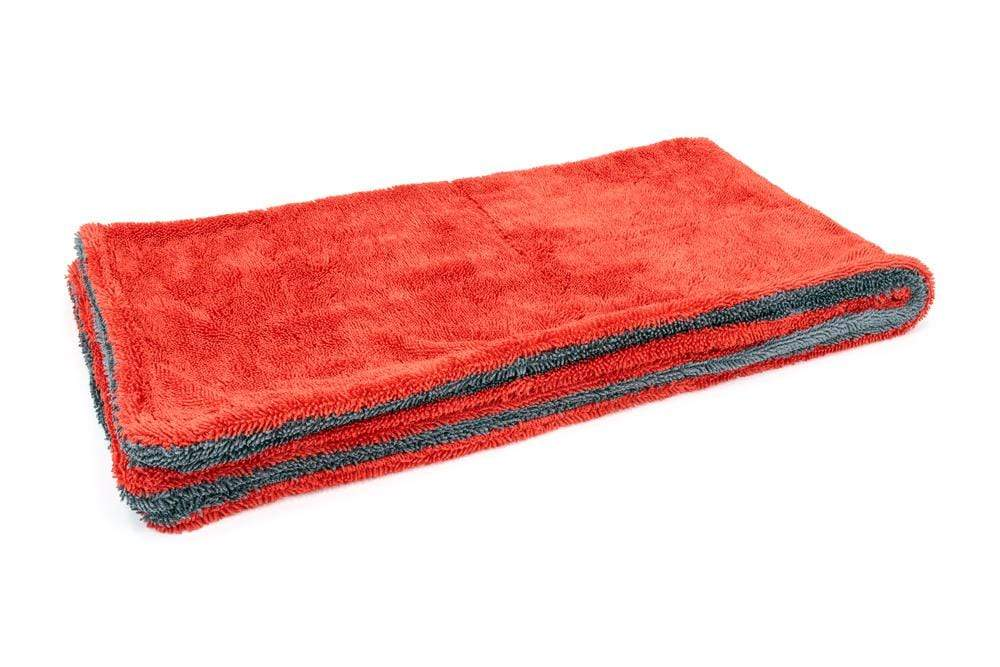 Autofiber Towel Red/Gray Dreadnought XL - Microfiber Car Drying Towel (20 in. x 40 in., 1100gsm) - 1 pack