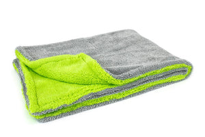 Autofiber Towel Green Amphibian - Microfiber Drying Towel (20 in. x 30 in., 1100gsm) - 1 pack
