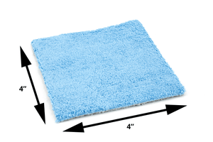 Autofiber [Saver Sheet] Coating Applicator Cloth with Barrier Layer (4 in. x 4 in.) - 12 pack