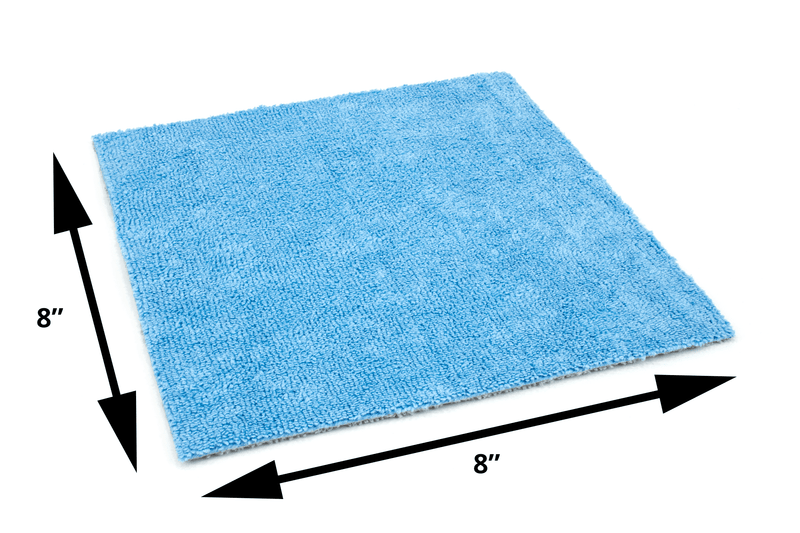 Autofiber [Saver Sheet] Coating Applicator Towel with Barrier Layer (8 in. x 8 in.) - 12 pack