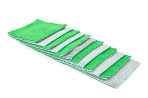 Autofiber Green [Saver Sheet] Coating Applicator Cloth with Barrier Layer (4 in. x 4 in.) - 12 pack