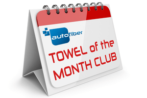 Autofiber Clubs Club [Towel of the Month Club] One Sample Per Month for 1 Year (12 samples)