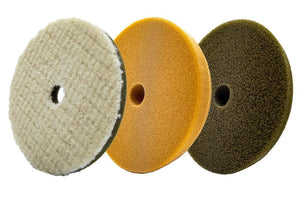 LC Power Tools Pad UDOS Pad Kit | Microwool, Olive, Khaki Pad (3 pack)