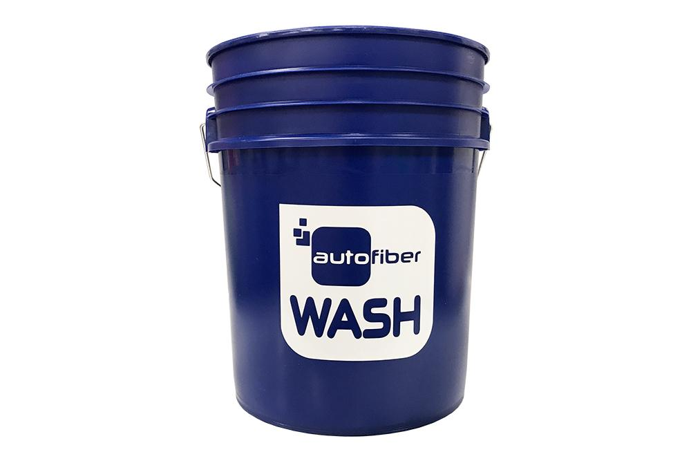 [WASH BUCKET] 5 Gallon Blue with Autofiber Vinyl