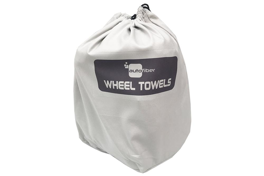 Autofiber Wheel [Sort & Store Bucket Bag] Microfiber Towel Organizing Bags (1 pack)