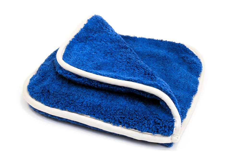 [Double-Flip] Rinseless Car Wash Microfiber Towel (8 in. x 8 in., 1100 gsm) 3 pack