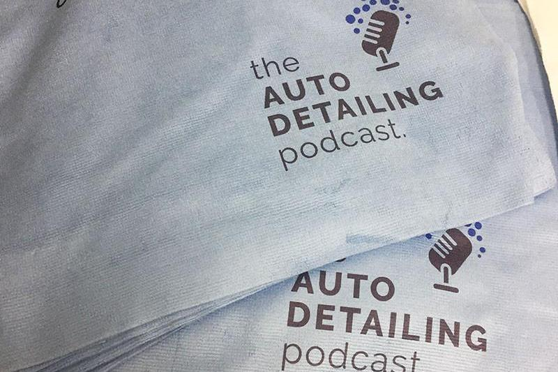 Autofiber [Auto Detailing Podcast] Sample Promotional Towel