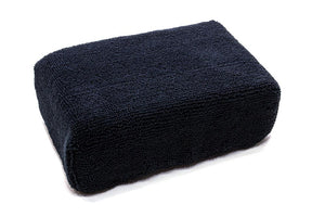 Autofiber Sponge Black [Block Sponge] Microfiber Applicator Pad (5 in. x 3.5 in. x 1.75 in.) 4 Pack