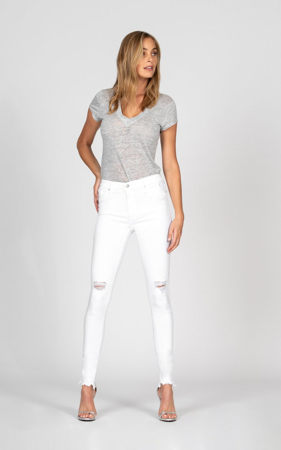 Gisele High Rise Skinny - Keep The Faith