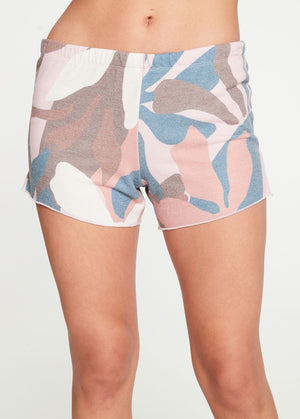 Abstract Floral Shorts