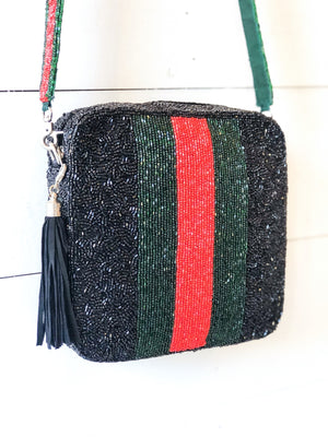 Beaded Crossbody