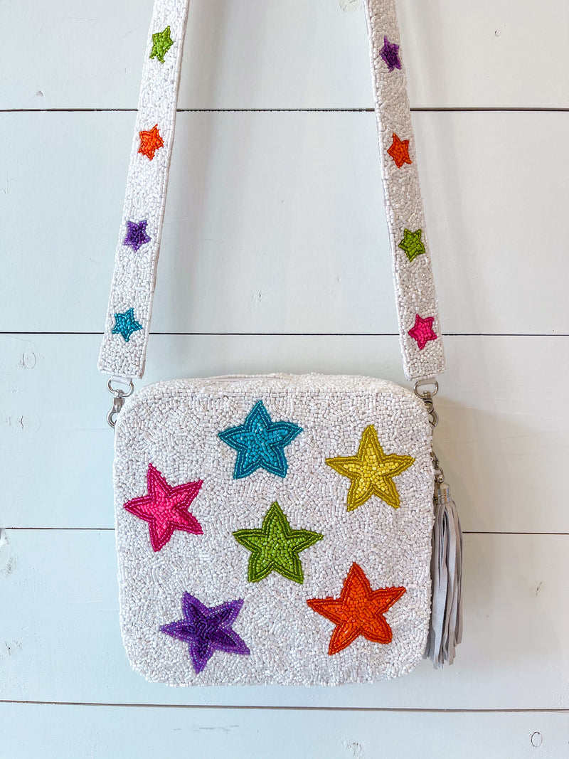 Star Beaded Crossbody
