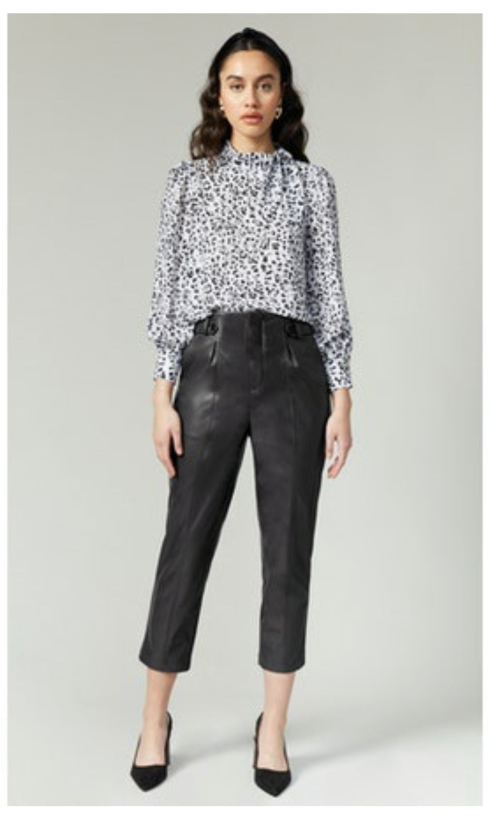 Lillian Vegan Leather Pant