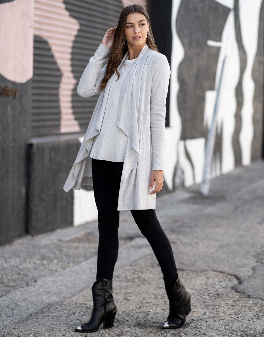 Heather Gray Duster