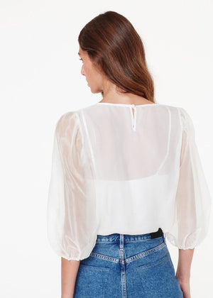 Penny Silk Top