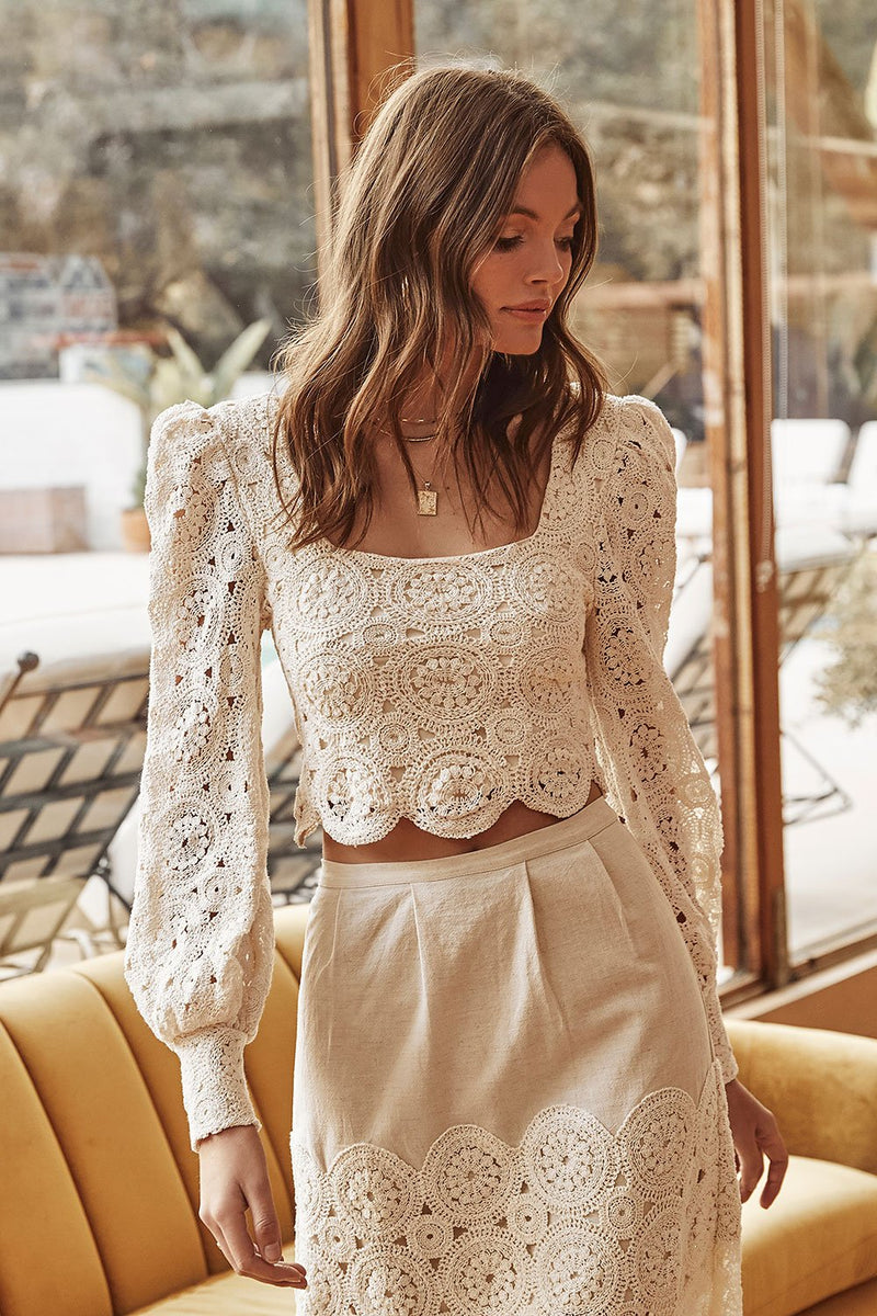 Mesa Crochet Blouse
