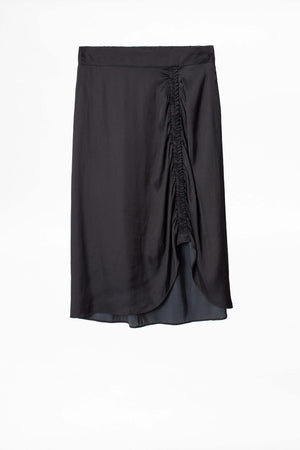 Jiji Satin Skirt