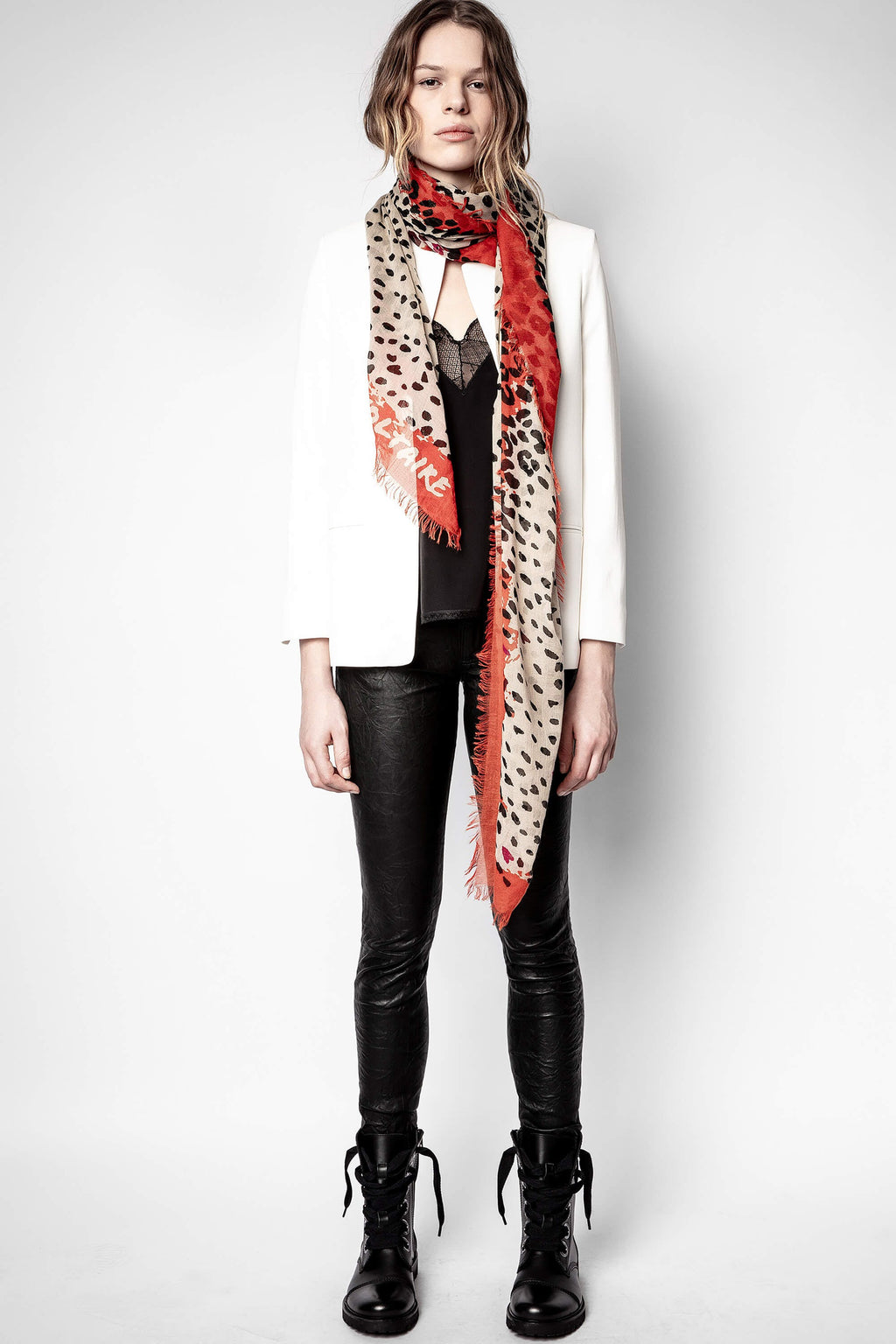 Delta Leopard Scarf