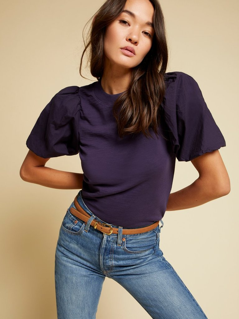Stacey Bubble Sleeve Tee
