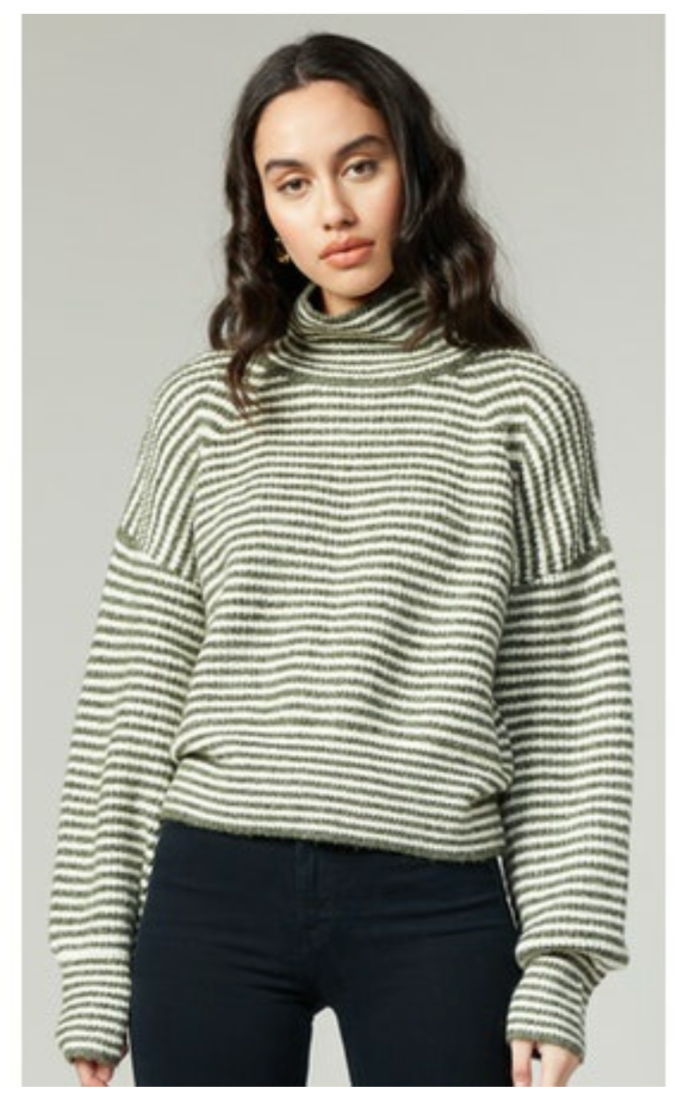Arielle Mock Neck Sweater