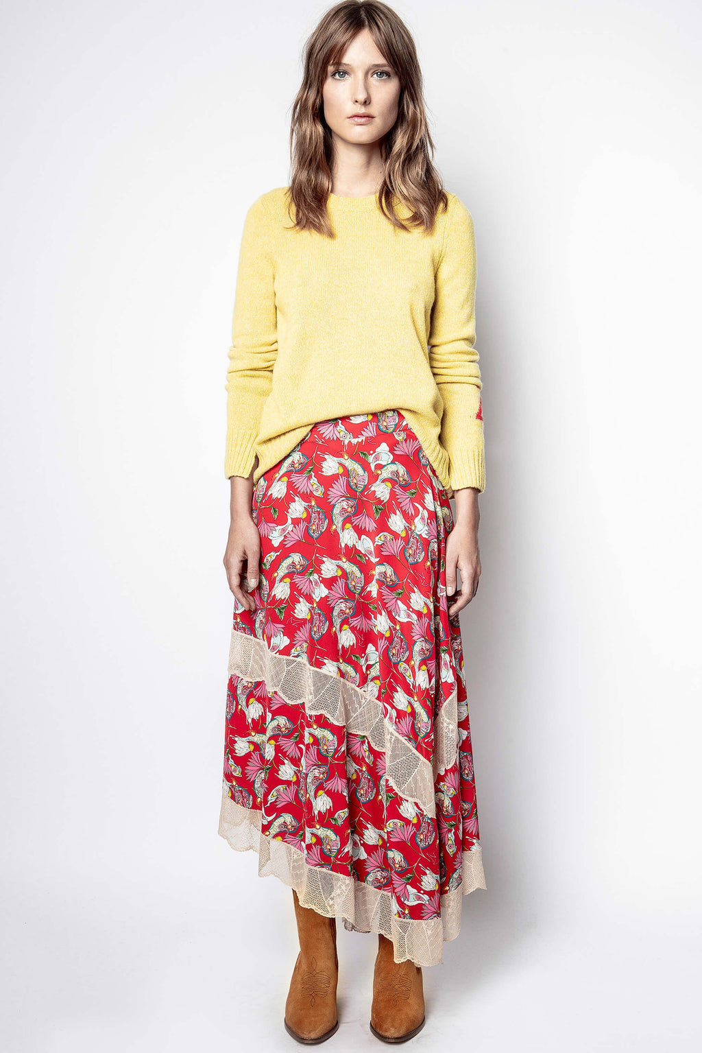 Juliet Paisley Skirt