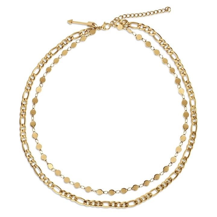 Jayce Double Chain Necklace