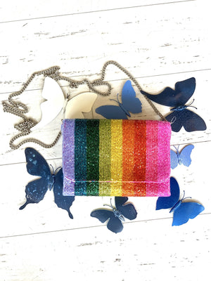 Rainbow Box Bag