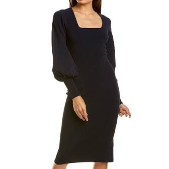 Bishop Sleeve Dress