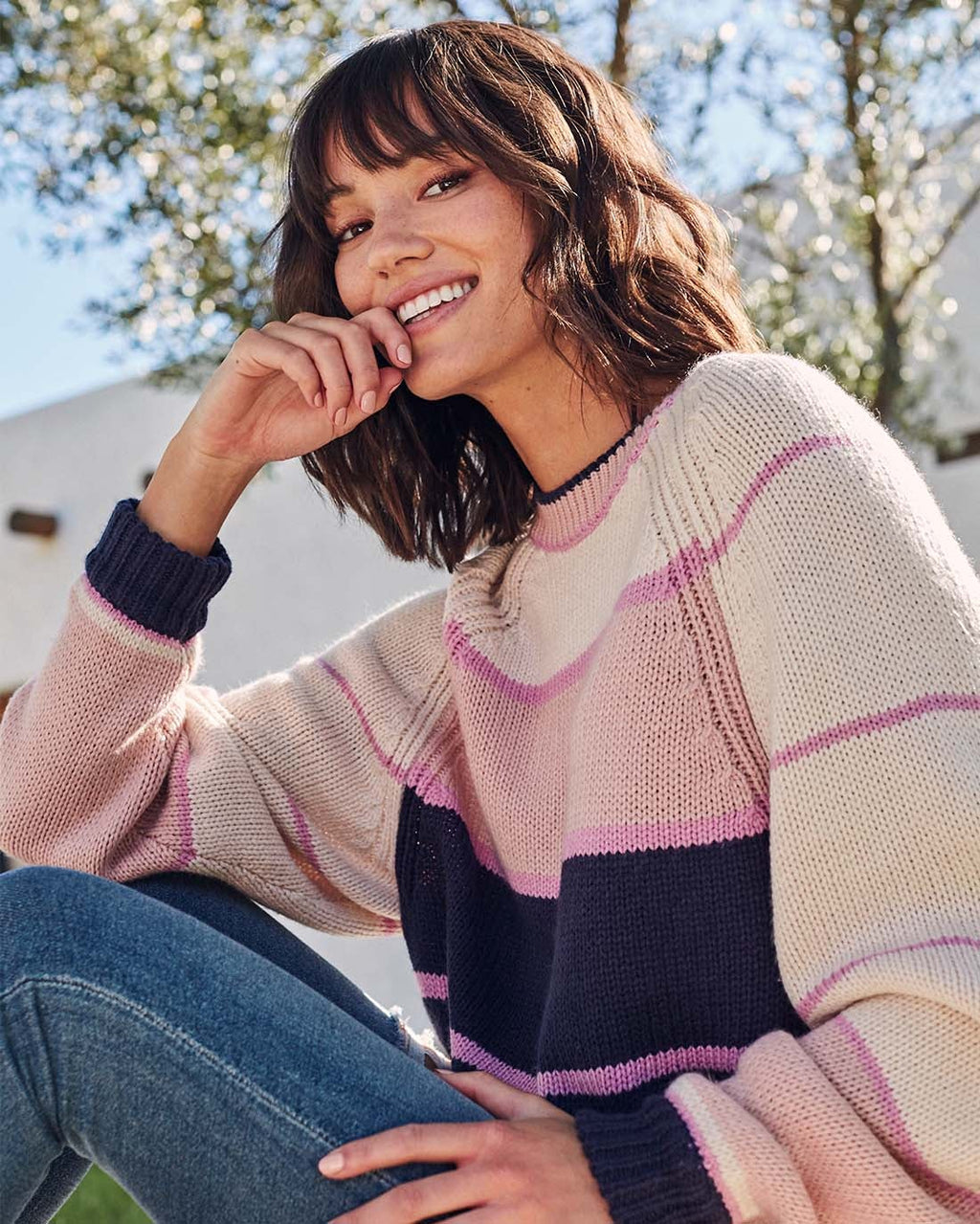 Adore Stripe Sweater